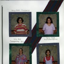 Image of 2011.98 - Page 5 of the Student Associates Auxiliary 1992 Scrapbook