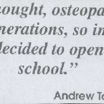 Image of 2011.98 - Andrew Taylor Still Quotes