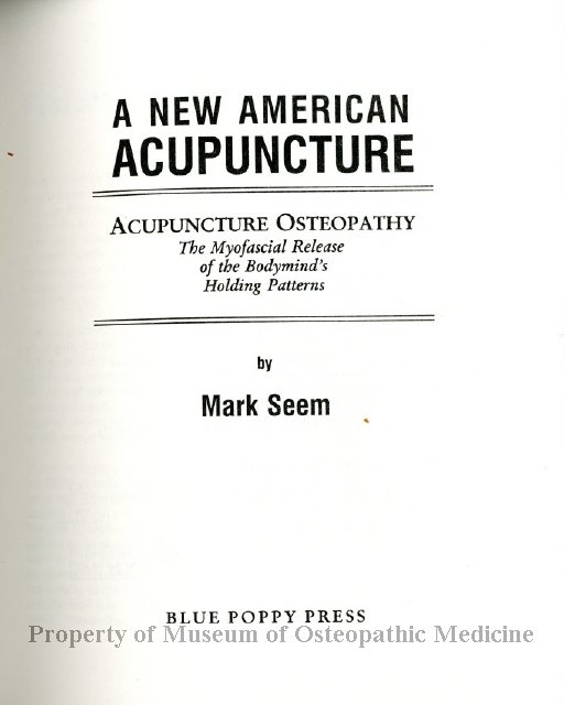 What words..., larson dick acupuncture