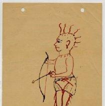 Image of Indian Boy Sketch