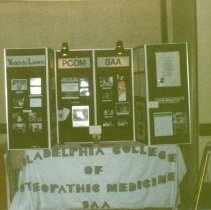 Image of 2011.98 - Philadelphia College of Osteopathic Medicine Booth at National Convention