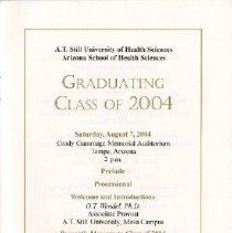 Image of ASHS Graduation Program