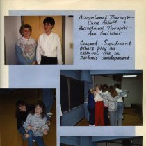 Image of 2011.98 - Page 31 of the Student Associates Auxiliary 1990 Scrapbook