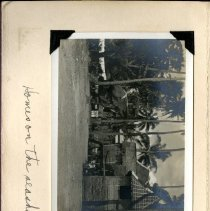 Image of 2009.62 - Page 1B of the William Brunk's Purple Travel Scrapbook