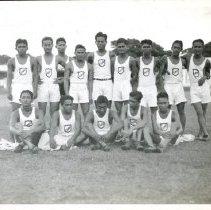Image of 2009.62 - Cebu High School Track and Field Team
