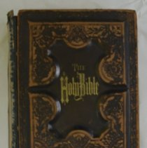 Image of 2009.62 - Holy Bible Belonging to Brunk Family