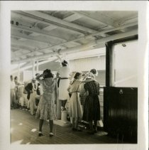 Image of 2009.62 - People On Deck of Ship