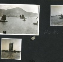 Image of 2009.62 - Page 17 of the William Brunk's Dark Brown Philippine Scrapbook
