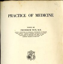 Image of Tice's Practice of Medicine General Index