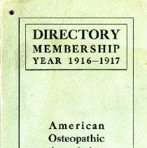 Image of 2015.01 - AOA Membership Directory