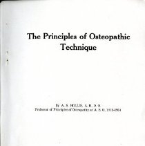 Image of The Principles of Osteopathic Technique