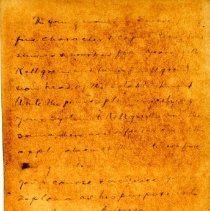 Image of Copy of Letter from Mark Twain