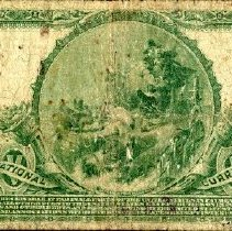 Image of Citizens National Bank of Kirksville Five Dollar Bank Note