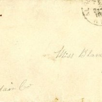Image of Letter from Fred Still to Blanche Still