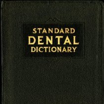 Image of 2016.25 - Standard Dental Dictionary, Illustrated