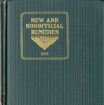 Image of 1997.42 - New and Nonofficial Remedies 1939