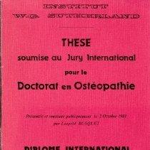 Image of 1997.42 - Les Chaînes Myotensives du Tronc
