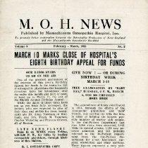 Image of 2008.58 - M.O.H. News, Vol. 8, No. 2