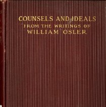 Image of 2016.25 - Counsels and Ideals From the Writing of William Osler, 4th Impression
