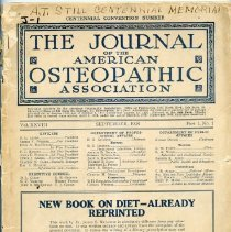 Image of 2009.49 - Journal of the American Osteopathic Association Volume 28, 1928