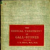 Image of 2016.25 - The Medical Treatment of Gall-Stones