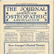 Image of 2016.45 - Journal of the American Osteopathic Association Volume 28, 1929