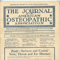 Image of 2016.45 - Journal of the American Osteopathic Association, Volume 28, 1929