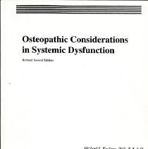 Image of 2016.54 - Osteopathic Considerations in Systemic Dysfunction, Revised 2nd Edition