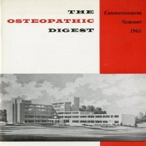 Image of 2008.58 - The Osteopathic Digest, Vol. XXIX, No. 1