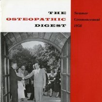 Image of 2008.58 - The Osteopathic Digest, Vol. XXII, No. 4
