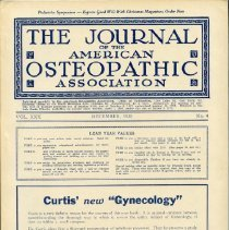 Image of 2016.45 - Journal of the American Osteopathic Association Volume 30, 1930