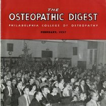 Image of 2008.58 - The Osteopathic Digest, Vol. XXI, No. 10