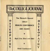 Image of 2008.58 - The College Journal, Vol. 27, No. 2