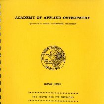 Image of Academy of Applied Osteopathy Lecture Notes