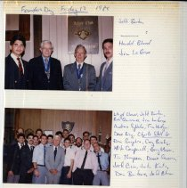 Image of 2011.50 - Page 74 of Atlas Club 1987-1989 Scrapbook