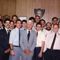 Image of 2011.50 - Atlas Club Members with Charles E. Still Jr.