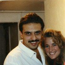 Image of 2011.50 - Khalid Sawaged with a Woman at Party
