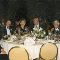 Image of 2016.01 - Group of Six at Table During Health Care Hall of Fame Induction Presentation
