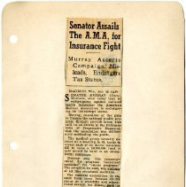 Image of 1985.1044 - Page Seventy of the Scrapbook on Socialized Medicine