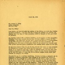 Image of 2017.06 - March 1941 Letter to George W. Riley from J.S. Denslow