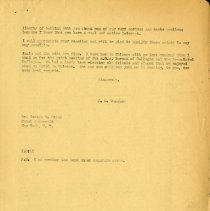 Image of March 1943 Letter to George W. Riley from J.S. Denslow