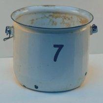 Image of 2004.275 - Metal Chamber Pot