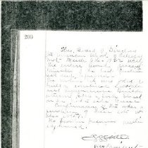 Image of 1985.1048 - Minutes of the American School of Osteopathy Board of Directors