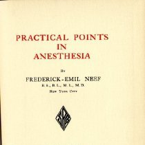 Image of Practical Points in Anesthesia