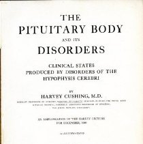 Image of The Pituitary Body and Its Disorders