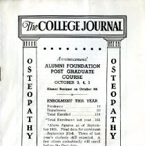 Image of 2008.58 - The College Journal, Vol. 24, No. 10