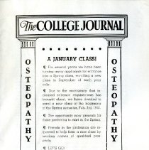 Image of 2008.58 - The College Journal, Vol. 24, No. 11