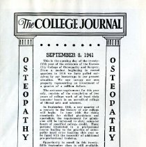 Image of 2008.58 - The College Journal, Vol. 25, No. 2