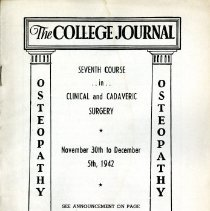 Image of 2008.58 - The College Journal, Vol. 26, No. 7