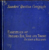 Image of 2016.25 - Essentials of Diseases of the Eye, Nose and Throat